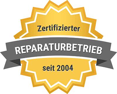 Logo Zertifizierter Reparaturbetrieb