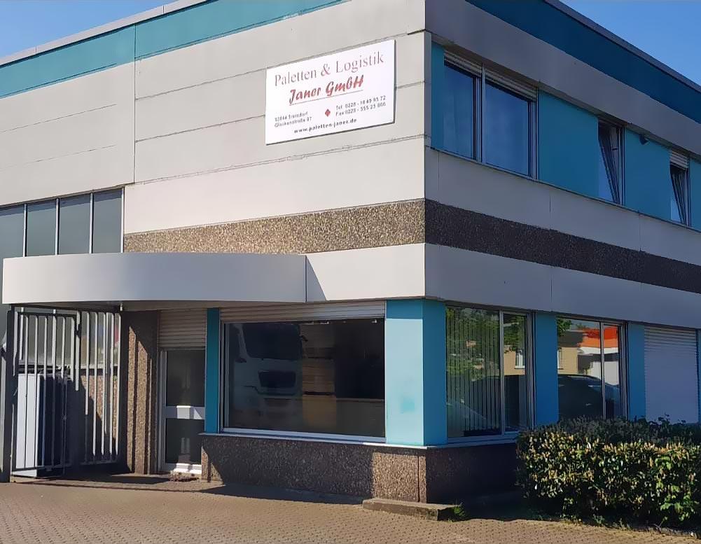 Außenansicht von Paletten & Logistik Janer GmbH